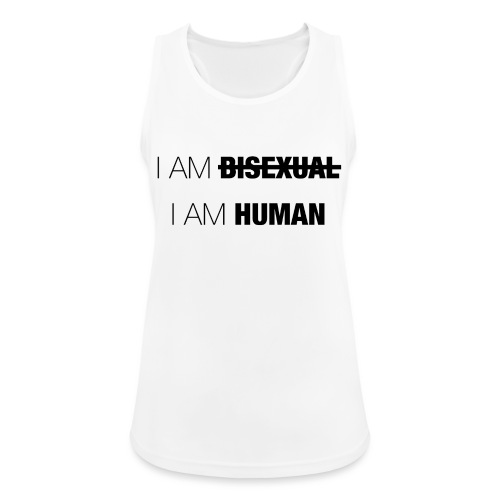 I AM BISEXUAL - I AM HUMAN - Women's Breathable Tank Top