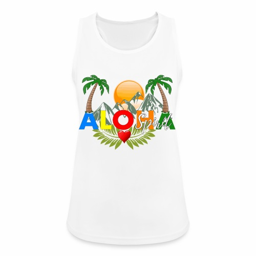 Aloha Spirit Tee - Frauen Tank Top atmungsaktiv
