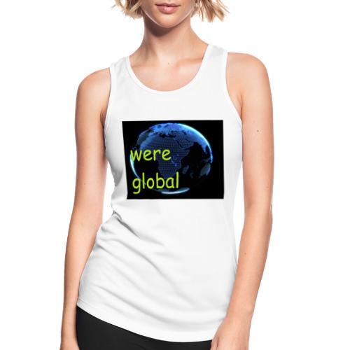 Were Global - Naisten tekninen tankkitoppi