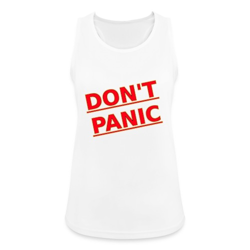DON T PANIC 2 - Women's Breathable Tank Top
