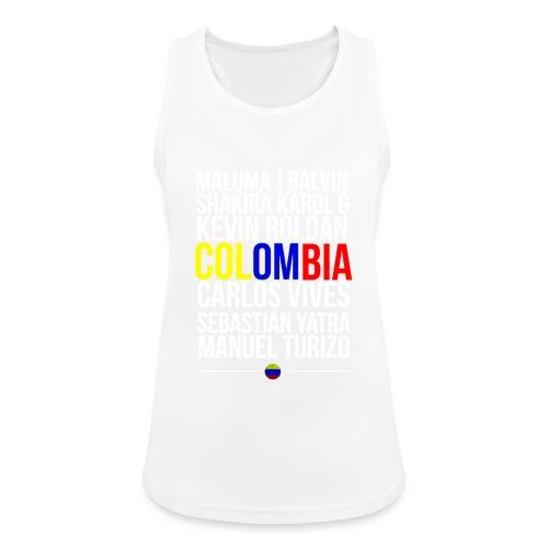 Reggaeton Shirt Kolumbien - Frauen Tank Top atmungsaktiv