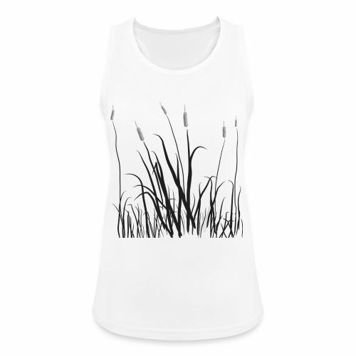 The grass is tall - Top da donna traspirante
