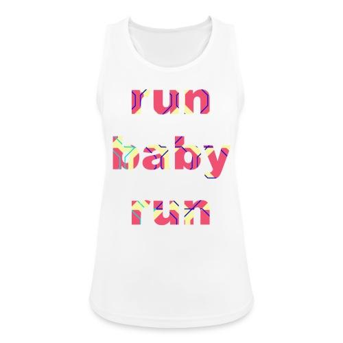 runbabyrun pink - Vrouwen tanktop ademend