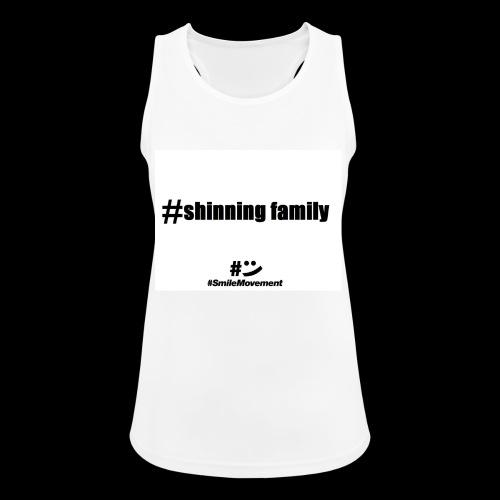 shinning family - Débardeur respirant Femme