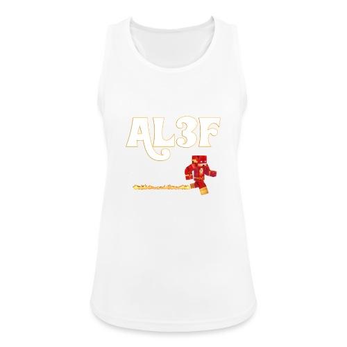 AL3F GAMER - Top da donna traspirante