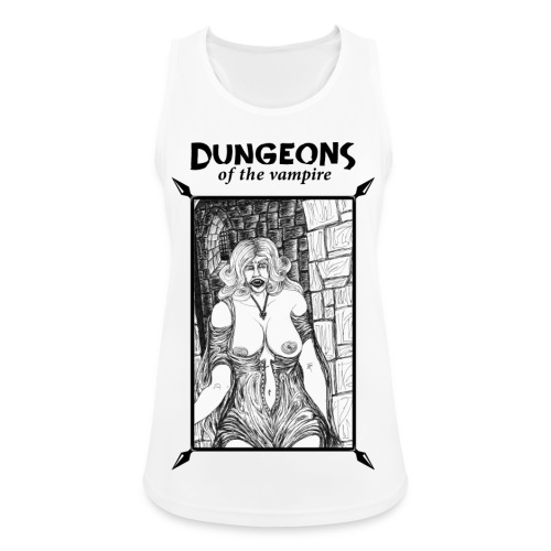 catacombs vampire black version - Women's Breathable Tank Top