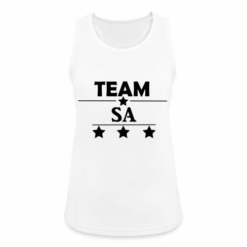Team SA Logo - Andningsaktiv tanktopp dam
