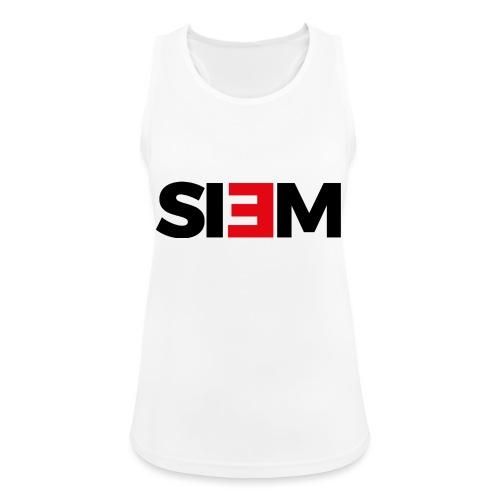 siem_zwart - Vrouwen tanktop ademend actief