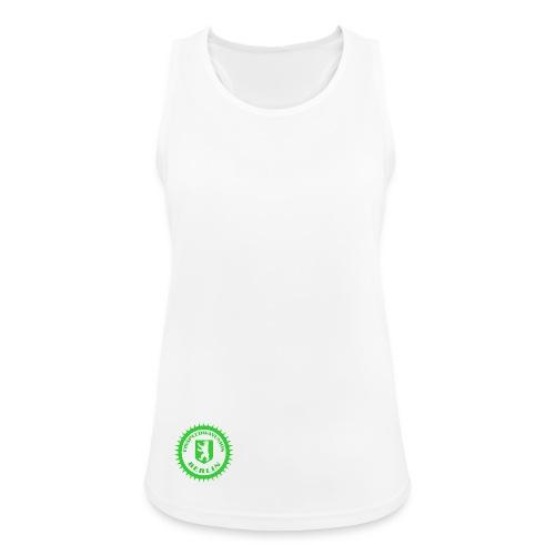 Logo klein ESU transp Green - Frauen Tank Top atmungsaktiv