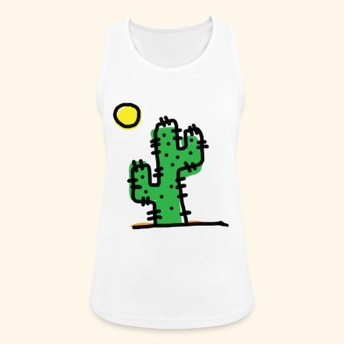 Cactus single - Top da donna traspirante