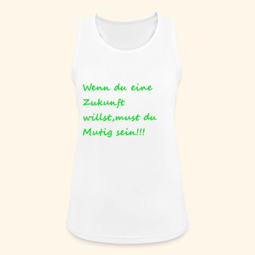 Zeig mut zur Zukunft - Women's Breathable Tank Top