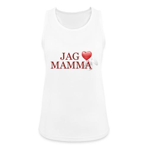 Jag älskar mamma - Andningsaktiv tanktopp dam