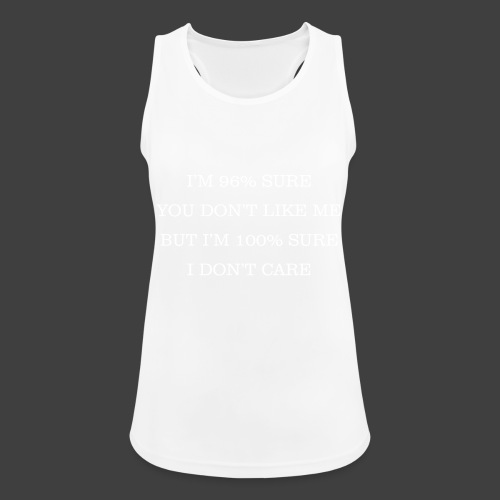 96% - Women's Breathable Tank Top