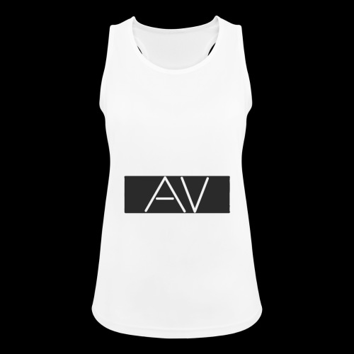 AV White - Women's Breathable Tank Top