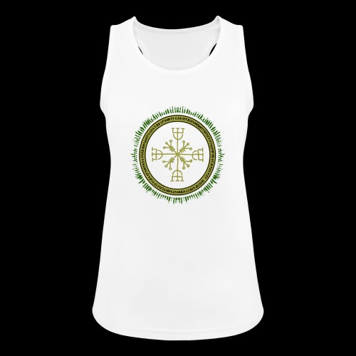 Norse Runes with Aegishjalmur 2017 - Women's Breathable Tank Top