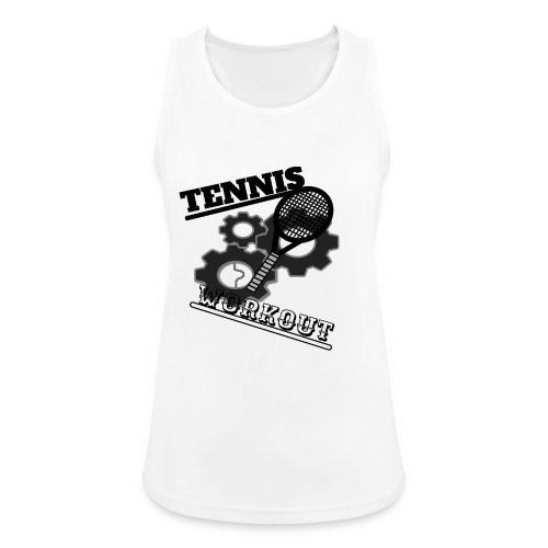 TENNIS WORKOUT - Women's Breathable Tank Top