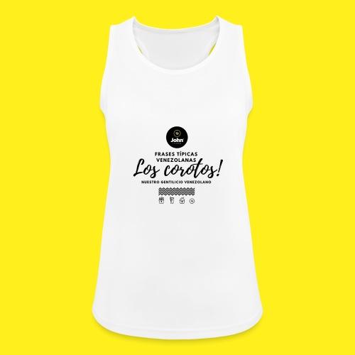 FRASES VENEZOLANAS 2F JOHN LAAREPA 5 - Camiseta de tirantes transpirable mujer