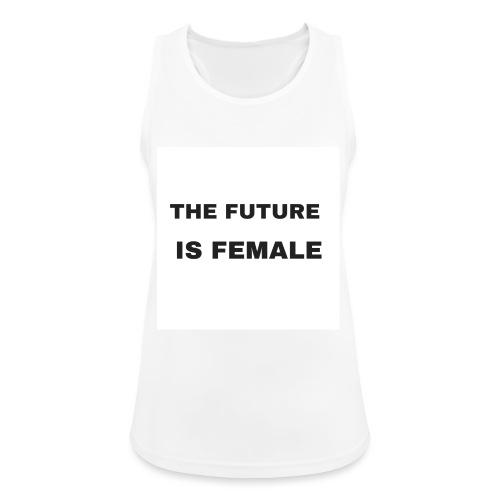 The Future Is Female - Camiseta de tirantes transpirable mujer