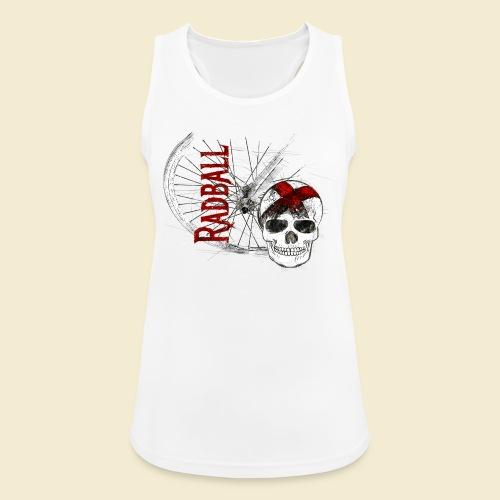 Radball | Cycle Ball Skull - Frauen Tank Top atmungsaktiv