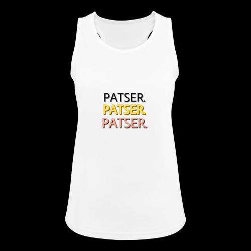 PATSER GOUD - Vrouwen tanktop ademend actief