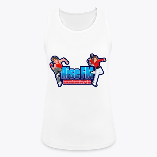 Rise FM Logo - Women's Breathable Tank Top