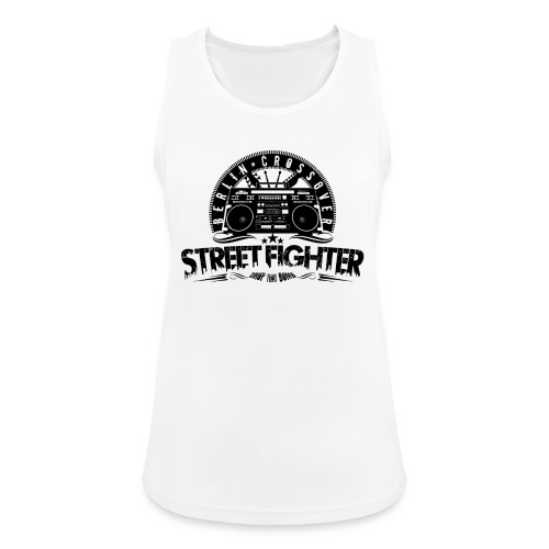 Street Fighter - Bandlogo (Black) - Frauen Tank Top atmungsaktiv