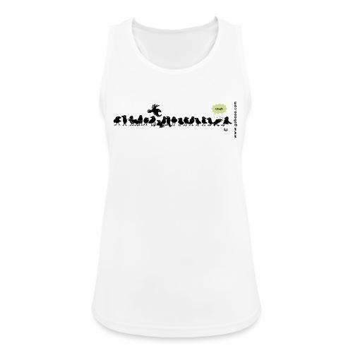 Corvids: ¡es una multitud! - Camiseta de tirantes transpirable mujer