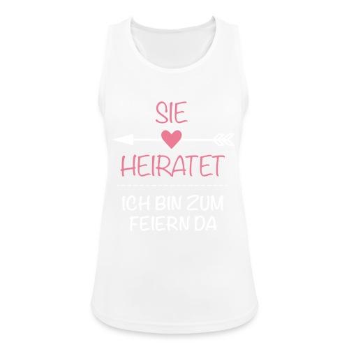 Sie heiratet - Für Schwarz - Frauen Tank Top atmungsaktiv
