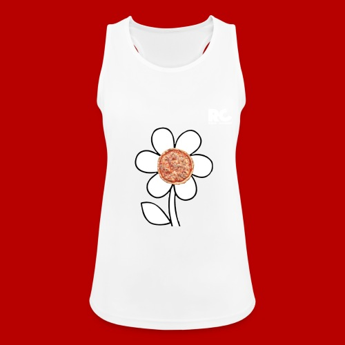 Pizzaflower Edition - Frauen Tank Top atmungsaktiv