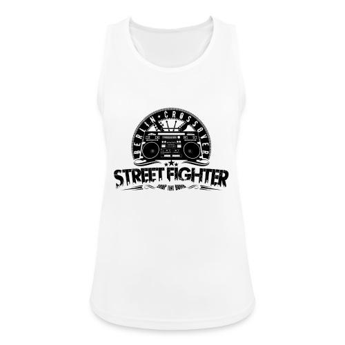 Streetfighter - Bandlogo (Black) - Women's Breathable Tank Top