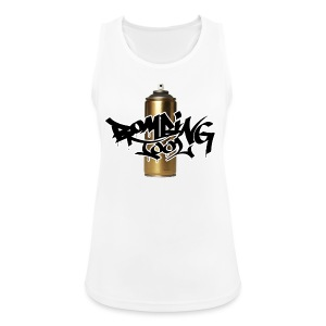 Golden Spray Can Bombing Tool - Frauen Tank Top atmungsaktiv