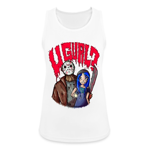 Kinko Klix ''U GURL?!'' - Women's Breathable Tank Top