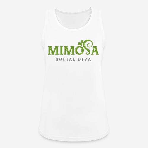 mimosa social diva - Frauen Tank Top atmungsaktiv