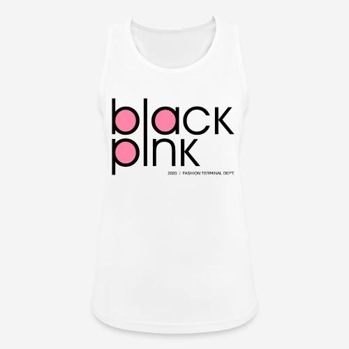 schwarzer rosa Modestil - Frauen Tank Top atmungsaktiv