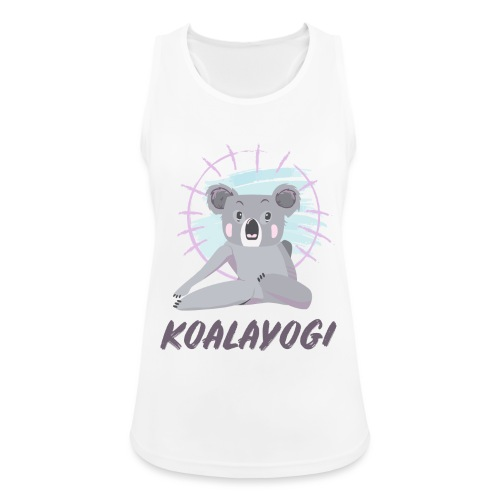 Koalayogi - Pustende singlet for kvinner