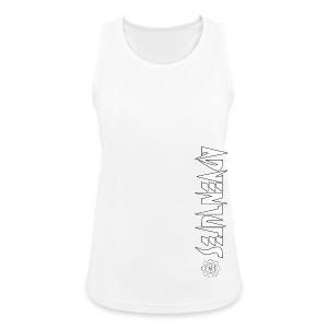 Jebus Adventures Vertical Stripe - Women's Breathable Tank Top