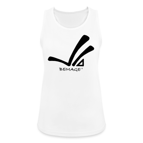 Bemage Logo neu test3 png - Frauen Tank Top atmungsaktiv