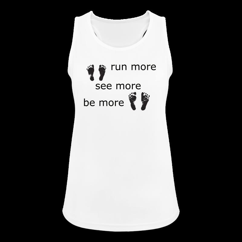 Run Collection - Pustende singlet for kvinner