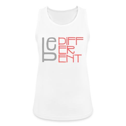 Be different - Fun Spruch Statement Sprüche Design - Frauen Tank Top atmungsaktiv