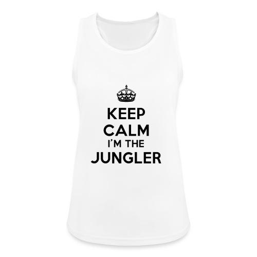 Keep calm I'm the Jungler - Débardeur respirant Femme