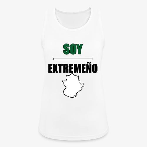 Soy Extremeño. - Camiseta de tirantes transpirable mujer