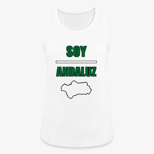 Soy Andaluz - Camiseta de tirantes transpirable mujer