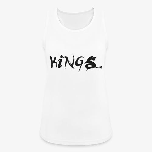 kings logo 2 png - Vrouwen tanktop ademend actief