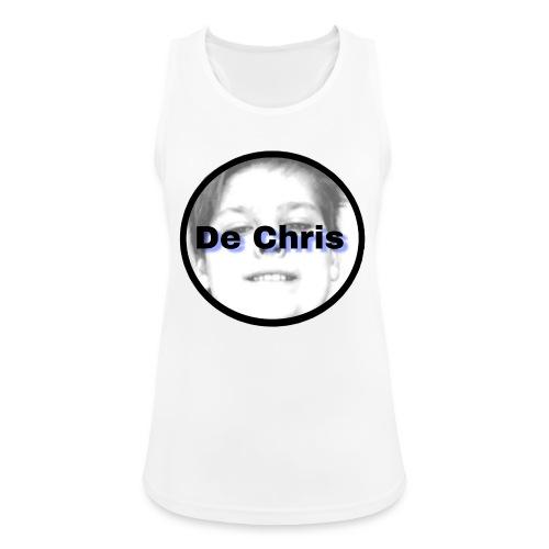 De Chris logo - Vrouwen tanktop ademend actief