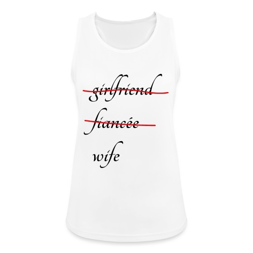 Wife - Frauen Tank Top atmungsaktiv