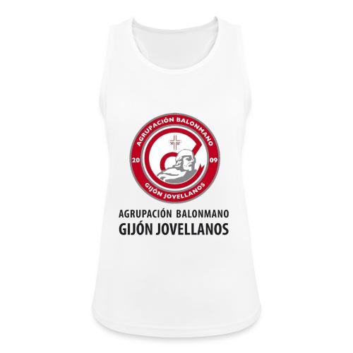 Escudo vertical básico - Camiseta de tirantes transpirable mujer
