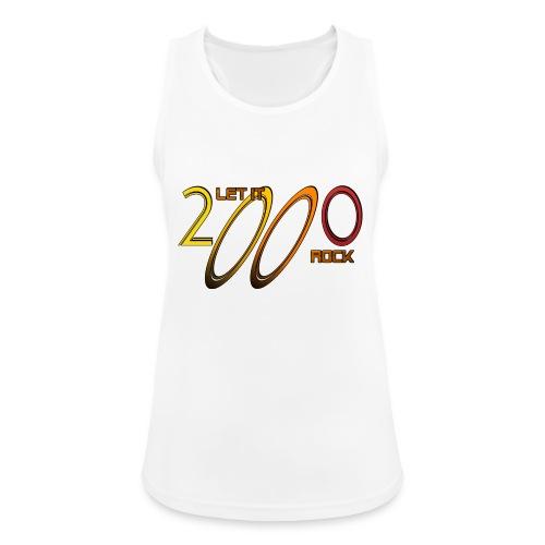 Let it Rock 2000 - Frauen Tank Top atmungsaktiv