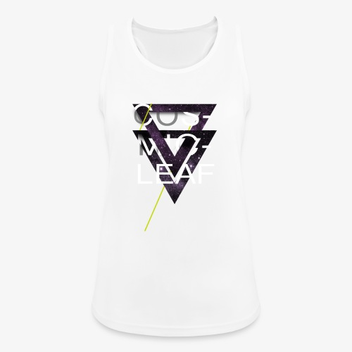 Cosmicleaf Triangles - Women's Breathable Tank Top