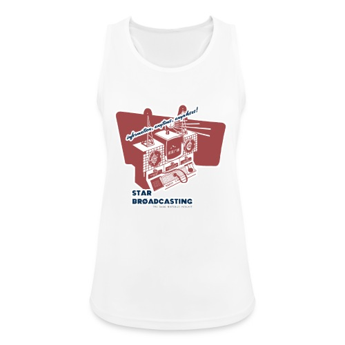 numbers stations hi - Women's Breathable Tank Top