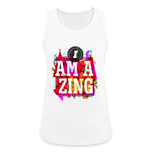I am Amazing - Women's Breathable Tank Top